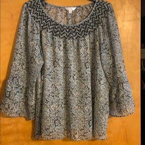 Lauren Conrad blouse size L! Like new!